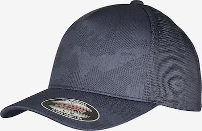 Flexfit Cap 'Jaquard Camo' in taubenblau, Produktansicht