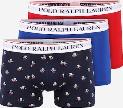 POLO RALPH LAUREN Boxerky - královská modrá / tmavě modrá / ohnivá červená / pastelově červená / bílá, Produkt