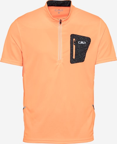 Tricot CMP pe gri metalic / portocaliu deschis / alb, Vizualizare produs