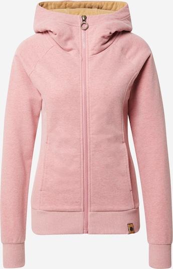 Fli Papigu Zip-Up Hoodie in mottled pink, Item view