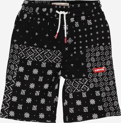 LEVI'S Pantalón en negro / blanco, Vista del producto