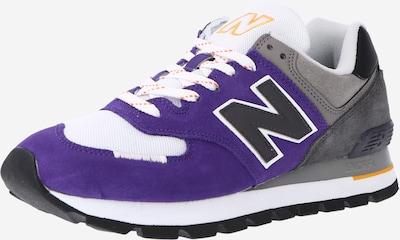 szürke / lila / fehér new balance Rövid szárú edzőcipők, Termék nézet