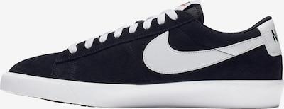 Nike Sportswear Platform trainers in Black / White, Item view