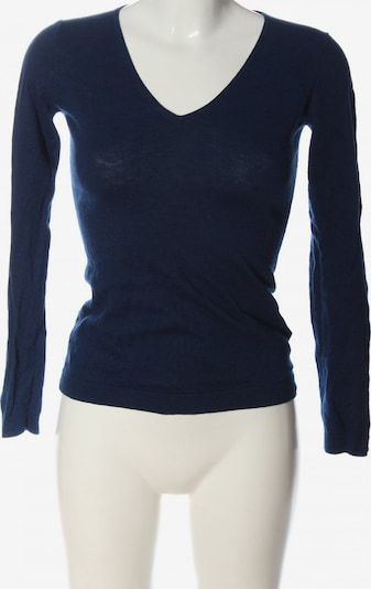 DELICATELOVE V-Ausschnitt-Pullover in XS in blau, Produktansicht
