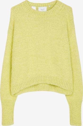 Marc O'Polo Pure Trui in de kleur Geel, Productweergave