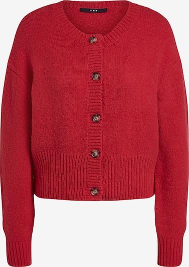 SET Cardigan en rouge, Vue avec produit