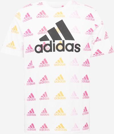 ADIDAS PERFORMANCE T-Shirt fonctionnel en orange / rose / noir / blanc, Vue avec produit