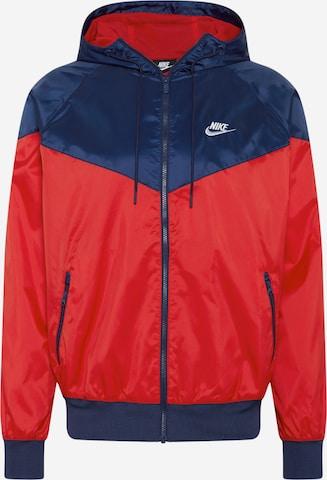 Nike Sportswear Sportsjakke i rød