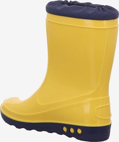 nora Gummistiefel in gelb, Produktansicht