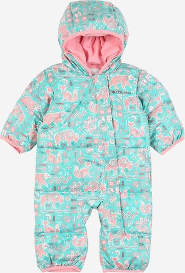 COLUMBIA Schneeanzug 'Snuggly Bunny' in türkis / mischfarben, Produktansicht