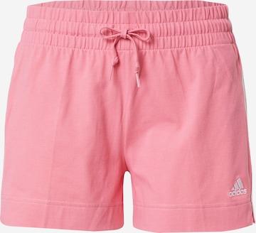 ADIDAS PERFORMANCE Sportsbukser i rosa