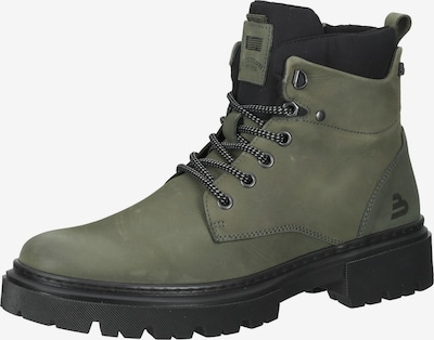 BULLBOXER Lace-Up Boots in Khaki / Black, Item view