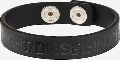 DIESEL Bracelet 'A-COPY' in black, Item view
