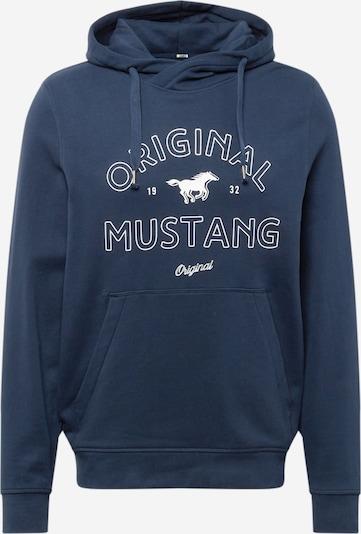 MUSTANG Sweatshirt 'Bennet' in navy / weiß, Produktansicht