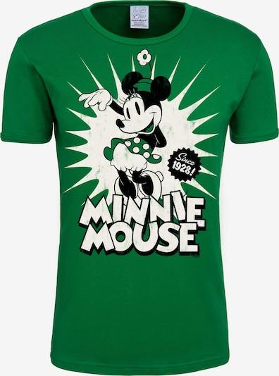 LOGOSHIRT T-Shirt 'Minnie Mouse since 1928' in grün, Produktansicht