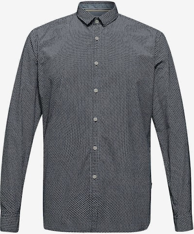 ESPRIT Hemd in kobaltblau / weiß, Produktansicht