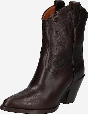 ruda Polo Ralph Lauren Kaubojiški batai