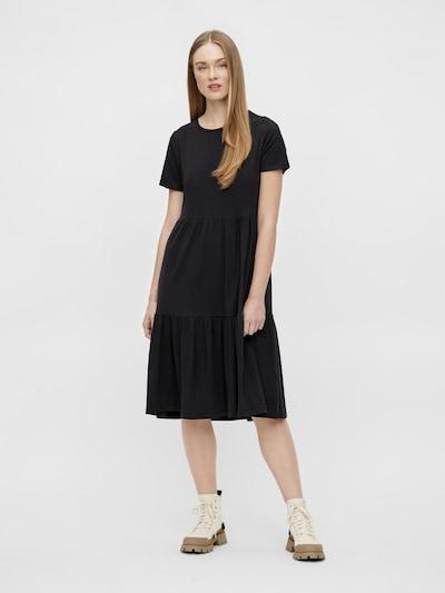 OBJECT Zomerjurk 'Stephanie' in de kleur Zwart, Modelweergave