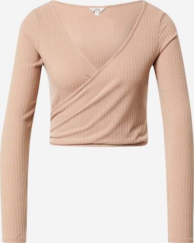 Miss Selfridge Shirt in camel, Produktansicht
