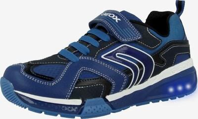 GEOX Sneaker 'J Bayonyc B. A' in blau / dunkelblau / weiß, Produktansicht