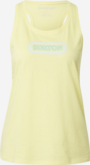 BURTON Sports top 'CARTA' in Turquoise / Light yellow / White, Item view