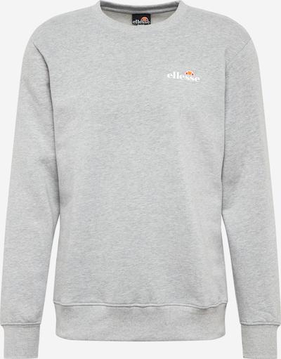 ELLESSE Спортен блузон с качулка 'Brufa' в светлосиво / оранжево / бяло, Преглед на продукта