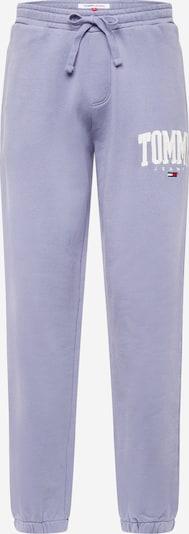 Tommy Jeans Hose in navy / rauchblau / rot / weiß, Produktansicht