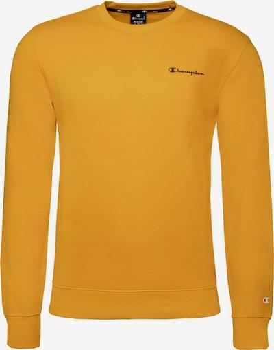 Champion Authentic Athletic Apparel Sweatshirt ' Crewneck ' in dunkelgelb, Produktansicht