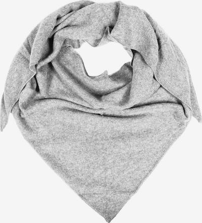 Zwillingsherz Tuch in grau, Produktansicht