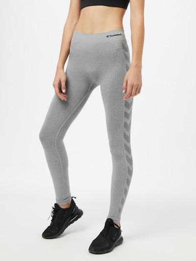 Hummel Sports trousers 'Ci' in mottled grey, View model