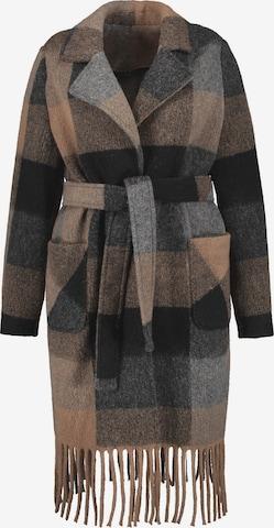 SAMOON Between-Seasons Coat in Mixed colors