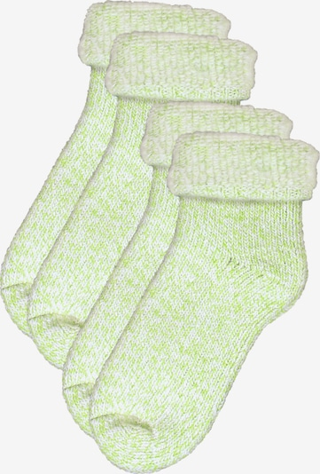 ROGO Socken in neongrün, Produktansicht