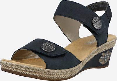 RIEKER Sandale in dunkelblau, Produktansicht