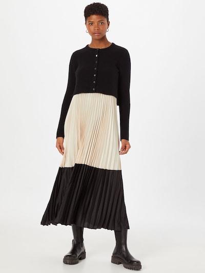 AllSaints Šaty 'Madison' - béžová / černá, Model/ka
