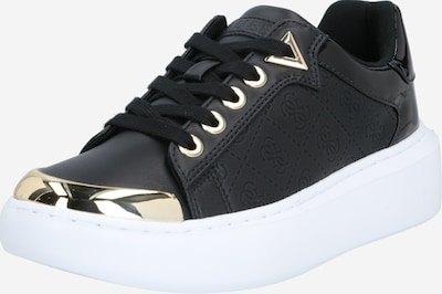 Sneaker low 'BRANDYN' GUESS pe negru, Vizualizare produs