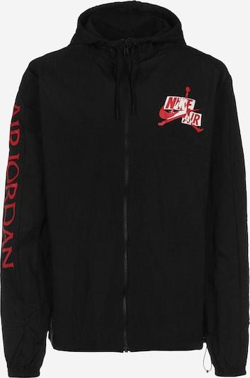 Jordan Windbreaker ' Jumpman GFX ' in rot / schwarz / weiß, Produktansicht