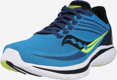 Pantofi sport 'KINVARA 12' saucony pe albastru / verde limetă / negru, Vizualizare produs