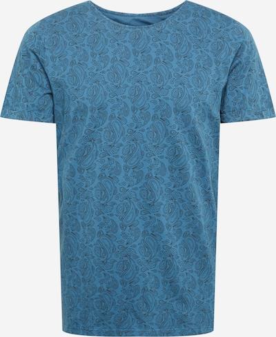 bleed clothing Shirt in de kleur Hemelsblauw / Zwart, Productweergave