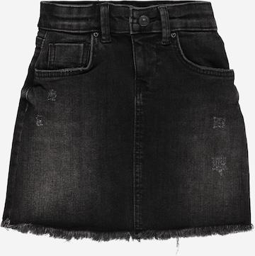 LTB Skirt 'Lime' in Black