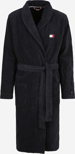 Trumpas maudymosi chalatas iš Tommy Hilfiger Underwear , spalva - tamsiai mėlyna / balta: Vaizdas iš priekio