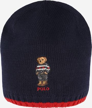 Bonnet Polo Ralph Lauren en bleu