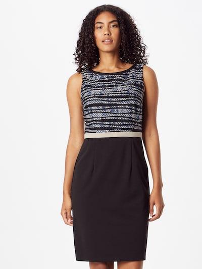Vera Mont Kleid in blau / schwarz / weiß, Modelansicht
