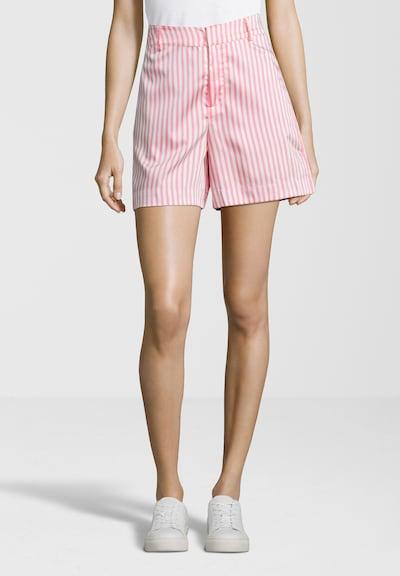 SCOTCH & SODA Tailored Shorts mit Streifenmuster in pink, Modelansicht