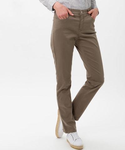 BRAX Hose in khaki, Modelansicht