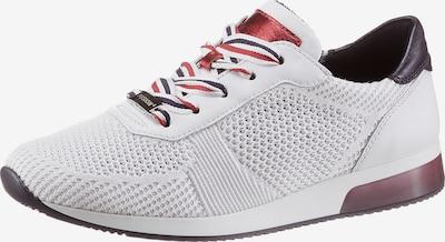 ARA Sneakers laag 'Lissabon' in de kleur Bruin / Rood / Wit, Productweergave