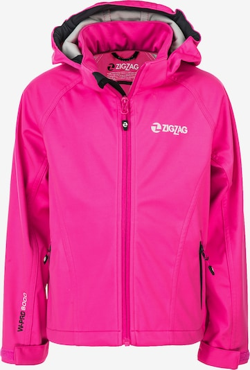 ZigZag Softshelljacke 'Grand Lake W-PRO' in pink, Produktansicht