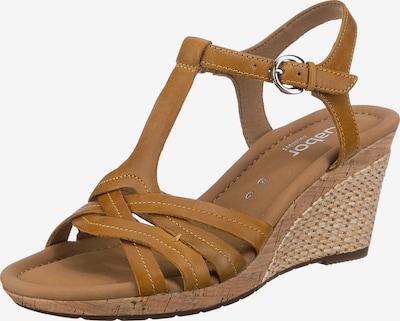 GABOR Sandale in honig, Produktansicht