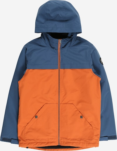 QUIKSILVER Outdoor jacket 'WAITING PERIOD YOUTH' in Blue / Orange, Item view