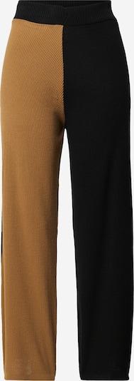Unique21 Hose in camel / schwarz, Produktansicht
