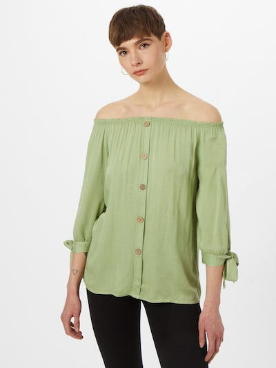 Hailys Bluse 'Eliana' in hellgrün, Modelansicht